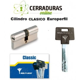 Cilindro CLASICO Europerfil, MULTILOCK