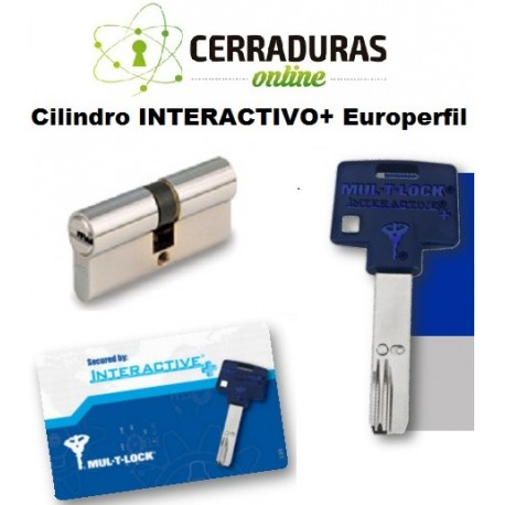 Cilindro INTERACTIVO+ Europerfil, MULTILOCK