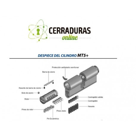 Cilindro MUL-T-LOCK MT5+ Europerfil