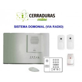 KIT Alarma Domonial (via radio)