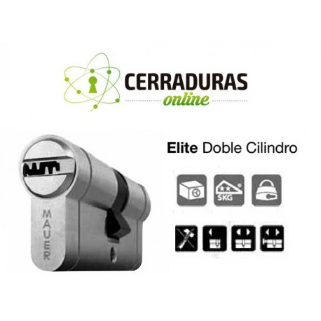Doble Cilindro ELITE RED LINE Cerradura Mauer
