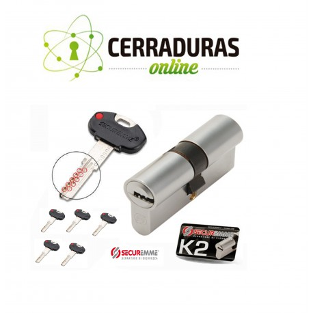 Bombin Cilindro K2 SECUREMME