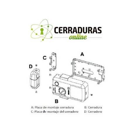 Cerradura de seguridad invisible Selockey