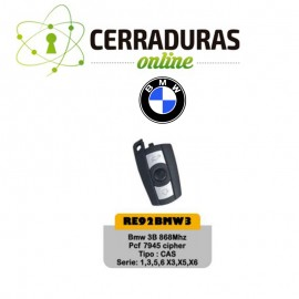 Llave Mando BMW Modelo RE92BMW3