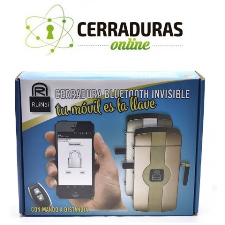 Cerradura Bluetooth invisible RuiNai
