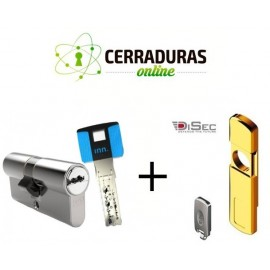 Kit Escudo Disec MG060 + Bombin INN.KEY Smart